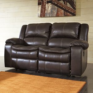 Ashley Signature Design Long Knight Reclining Loveseat