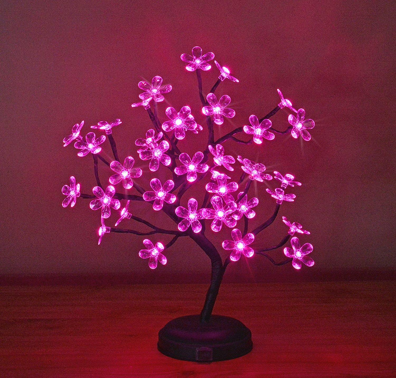 Lightshare Led 36 Light Crystal Flower Led Bonsai Tree Reviews