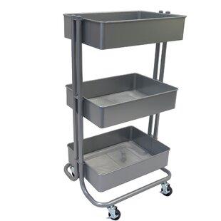 3-Tier Storage Utility Cart By Symple Stuff
