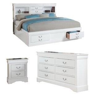 Wysocki Panel Configurable Bedroom Set