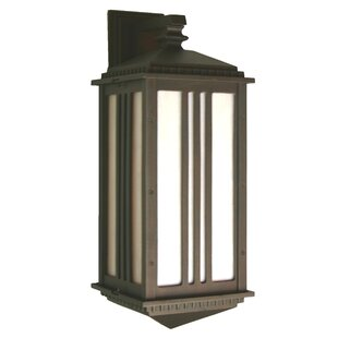 Compare Petrey 1-Light Outdoor Wall Lantern By Alcott Hill