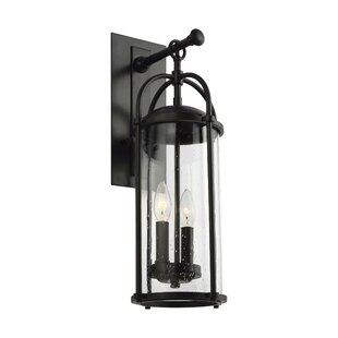 Top Reviews Espana 3-Light Outdoor Wall Lantern By Millwood Pines