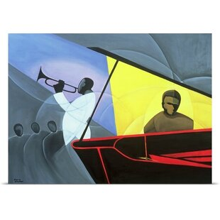 Hot And Cool Jazz 2004 By Kaaria Mucherera Painting Print