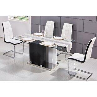 Kingsdown Modern Glass Dining Table
