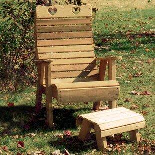Tillison Cedar 2 Piece Conversation Set By August Grove