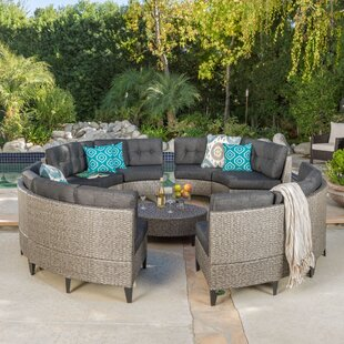 Stoneman 10 Piece Sectional Set with Cushions by Brayden Studio