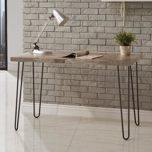 Mistana Giselle Desk with Hairpin Metal L..
