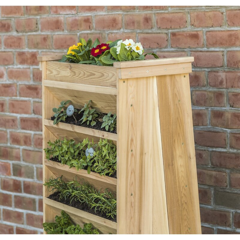 YardCraft Cedar Vertical Garden & Reviews | Wayfair