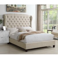 Deals on Mulhouse Furniture Feliciti Upholstered Standard Bed