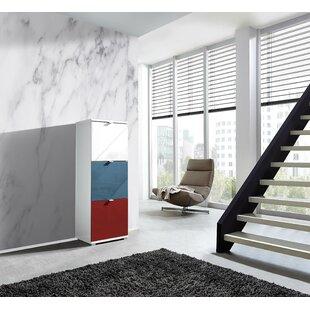 Colorado 12 Pair Shoe Storage Cabinet By Ebern Designs