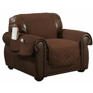 Quatrefoil Quilted Box Cushion Armchair Slipcover By Winston Porter