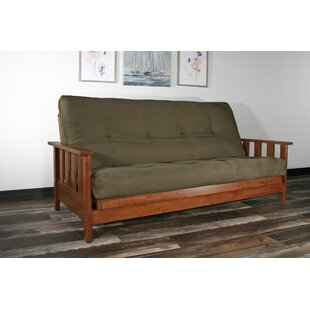 Ashcroft Futon and Mattress by Red Barrel..