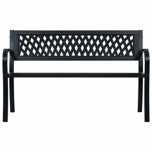 Rishaan Steel Bench By Sol 72 Outdoor