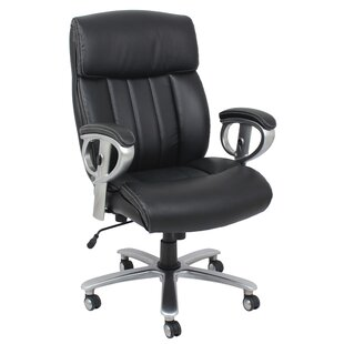 Top Reviews Clearview High-Back Executive Chair By Symple Stuff