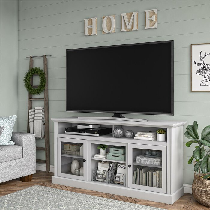 Alpharetta TV Stand for TVs up to 70 inches with Fireplace Included