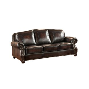 Amax Vail 2 Piece Leather Living Room Set