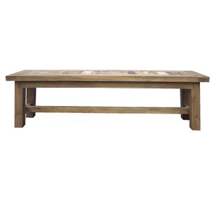 Dashwood Recycled Teak Bench by Rosecliff..