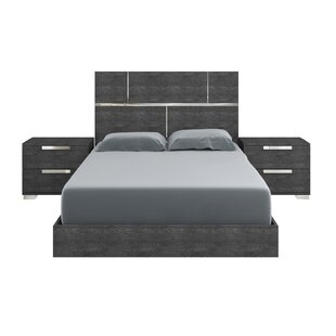 Milo Platform Bed by Casabianca Furniture