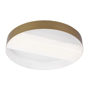 Orren Ellis 1-Light LED Flush Mount