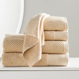 Woolf 6 Piece 100% Cotton Towel Set