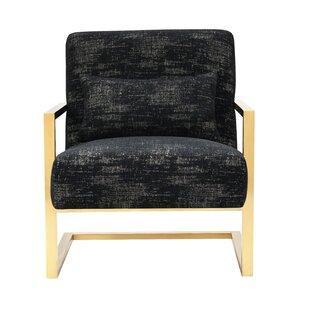 Everly Quinn Schuster Sculptural Armchair