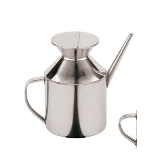 Stainless Steel Soy Sauce and Oil Dispenser (Set of 2)