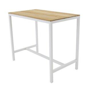 Steven Aluminium Bar Table By House Of Hampton