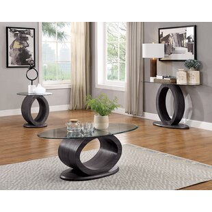Norman 3 Piece Coffee Table Set