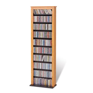 Red Barrel Studio Deliah Slim Barrister Multimedia Storage Rack Image