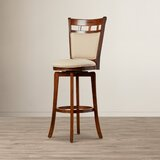 Woodford Swivel Bar & Counter Stool by Red Barrel Studio®