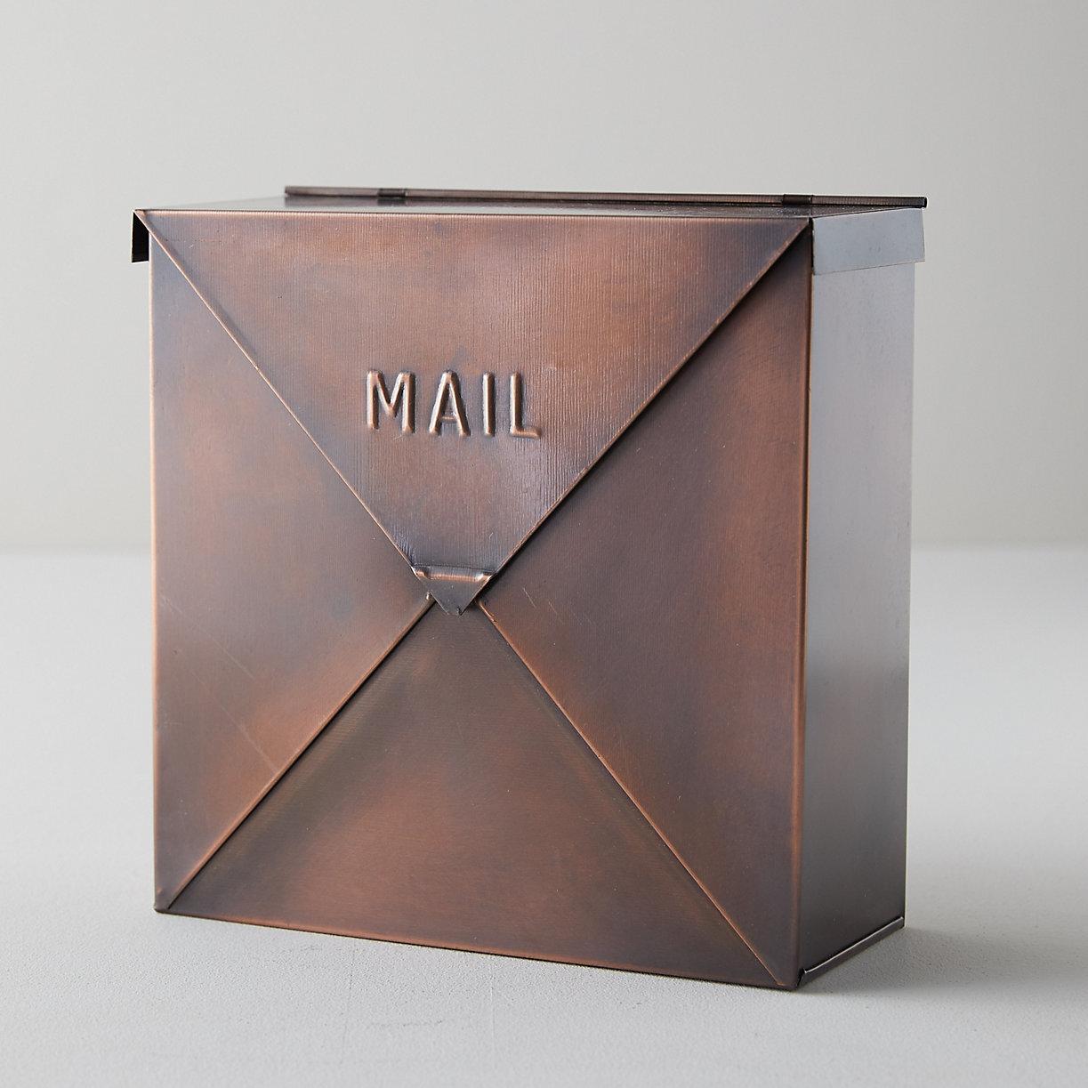 Nach Rockford Aluminum Wall Mounted Mailbox Reviews Wayfair