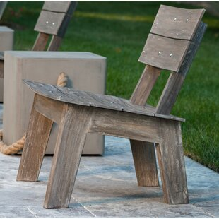 Herrera Teak Adirondack Chair by Loon Peak