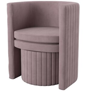Malek Barrel Chair and Ottoman