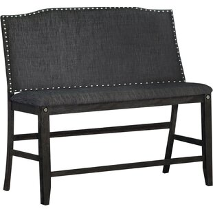 Dylan Counter Height Upholstered Bench by Darby Home Co