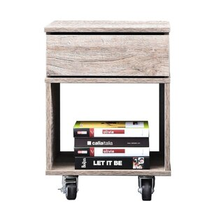 Reviews Parrish Bedside 1 Drawer Nightstand by Union Rustic