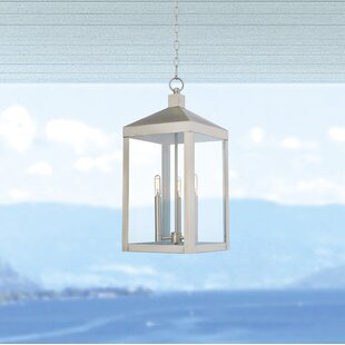 Mercury Row Demery 3-Light LED Outdoor Hanging Lantern