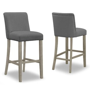 Gelsomina 29.9 Bar Stool (Set of 2) One Allium Way