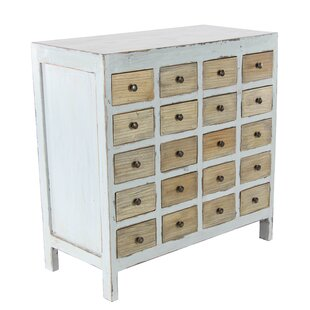 Rosecliff Heights Goulds 20 Drawer Accent Chest