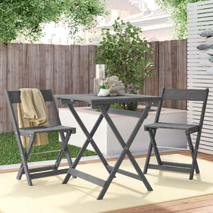Belle 3 Piece Bistro Set by Highland Dunes