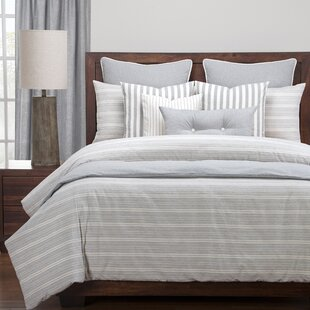 Atlantic 100% Cotton Reversible Duvet Cover Set