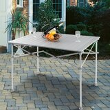 Zwingle Folding Aluminum Camping Table