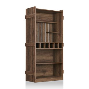 Wilburn Farmhouse Manufactured Wood Baker's Rack