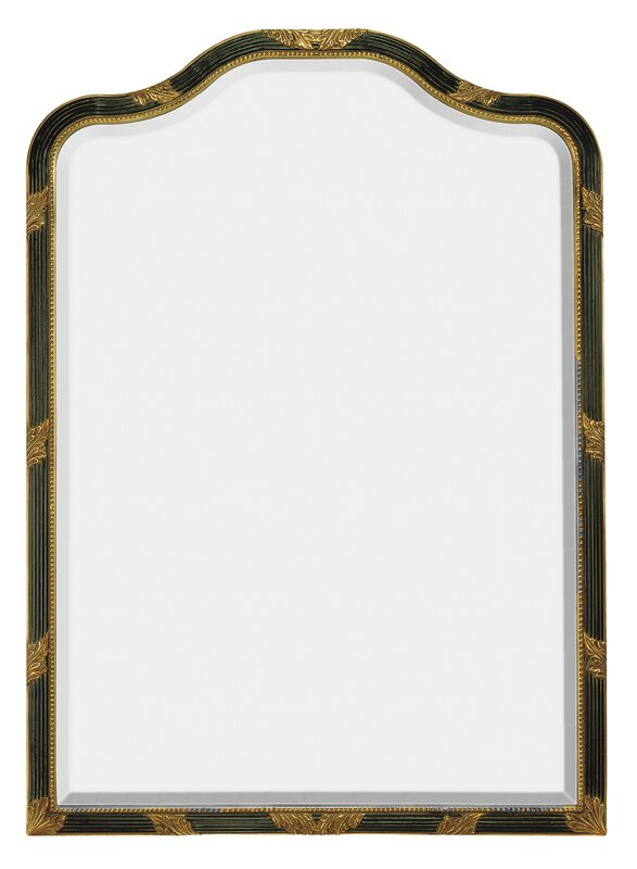 Antique Wall Mirrors majestic mirror traditional curved framed antique beveled glass