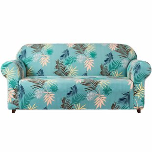 Stretch Leaf Printed Sofa Slipcovers By Bay Isle Home