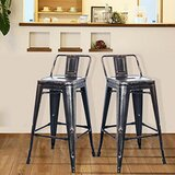 Eley Metal 26'' Bar Stool (Set of 2) by 17 Stories