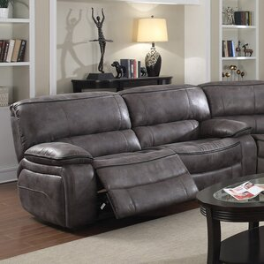 Micah Reclining Sofa by E-Moti..
