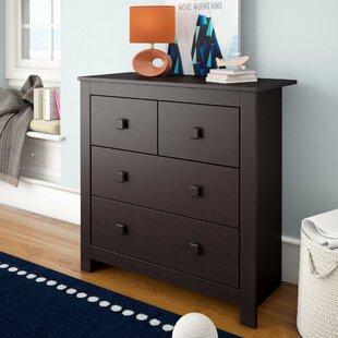 Angelica 4 Drawer Dresser by Mack & Milo
