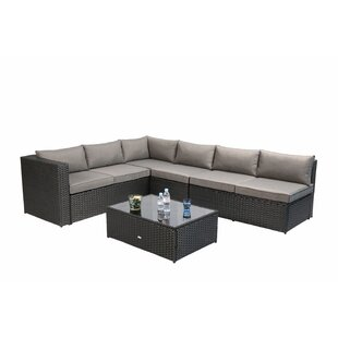 Chalfonte 5 Piece Sectional Set with Cushions by Bay Isle Home