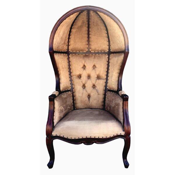 Superbe D Art Collection Louis Dome Balloon Arm Chair | Wayfair