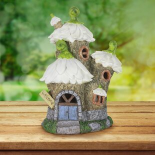 Dillman Solar Daisy House Fairy Garden by August Grove